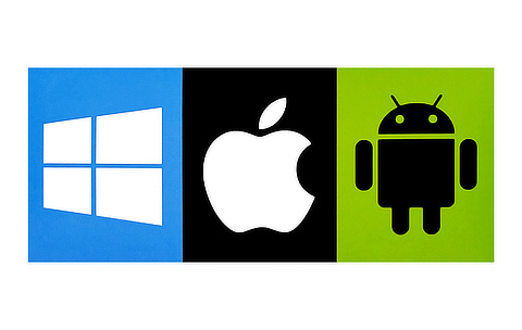 iOS Android Windows platforms
