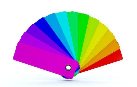 mobile app colour palette assets