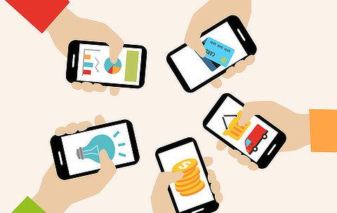 mobile app offline online